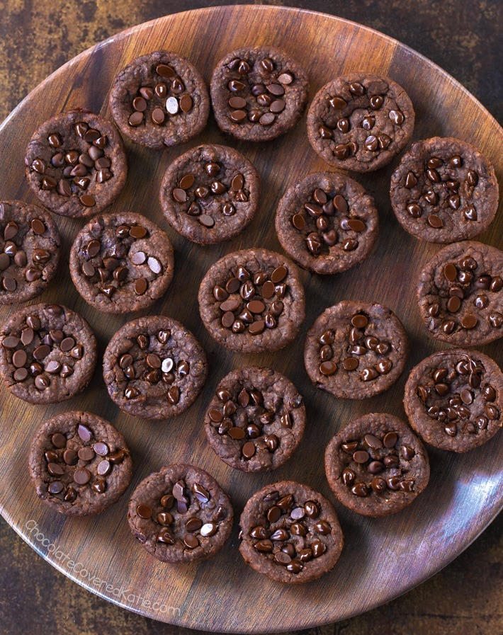 Chocolate Black Bean Brownie Bites