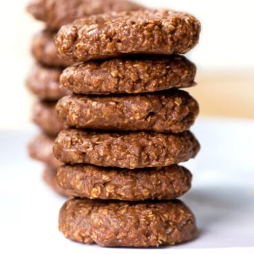 Chocolate Peanut Butter No Bake Cookie Recipe
