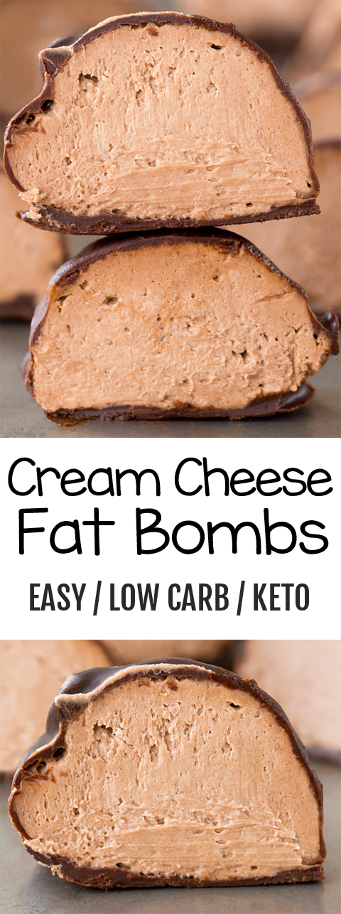 Low Carb Keto Cream Cheese Bombs