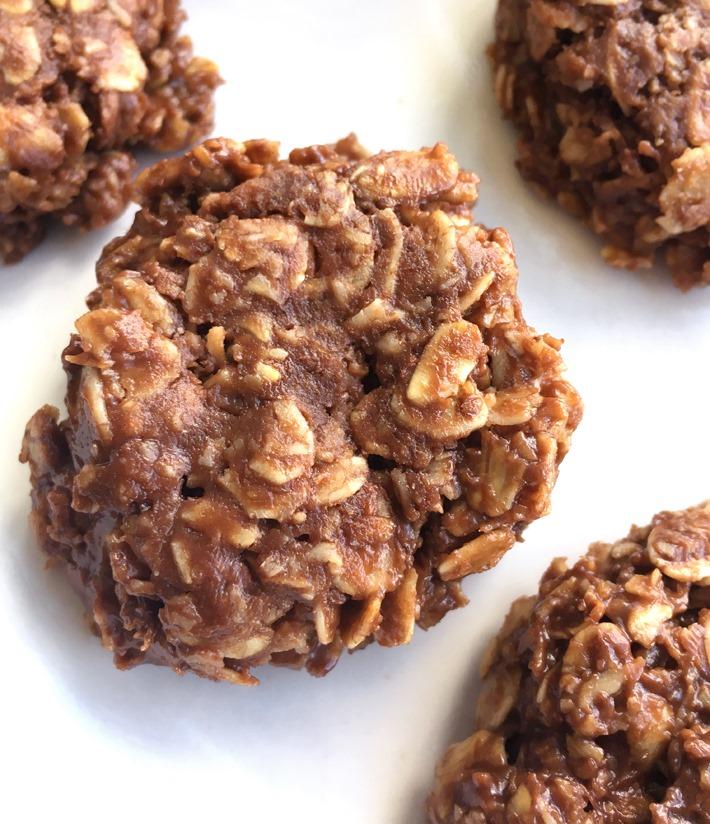 Oatmeal No Bake Chocolate Cookies