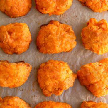 The Best Easy Buffalo Cauliflower Bites