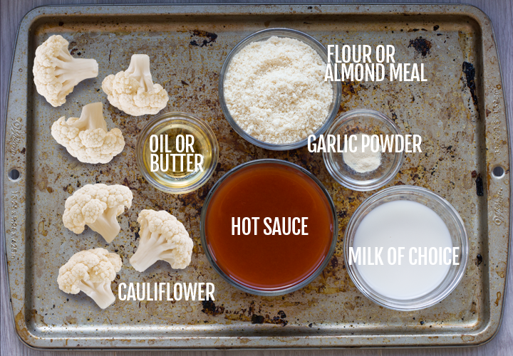 Vegan Buffalo Wings Ingredients