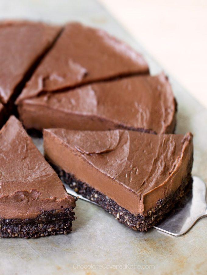 Creamy Healthy Chocolate Avocado Pie Recipe