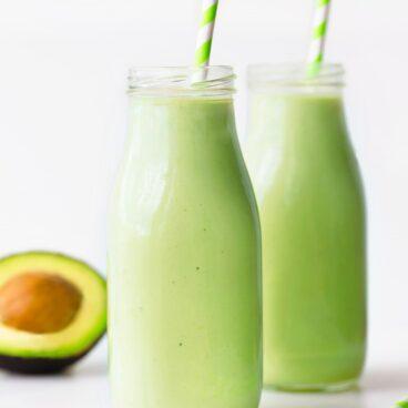 Easy Creamy Avocado Smoothie Recipe
