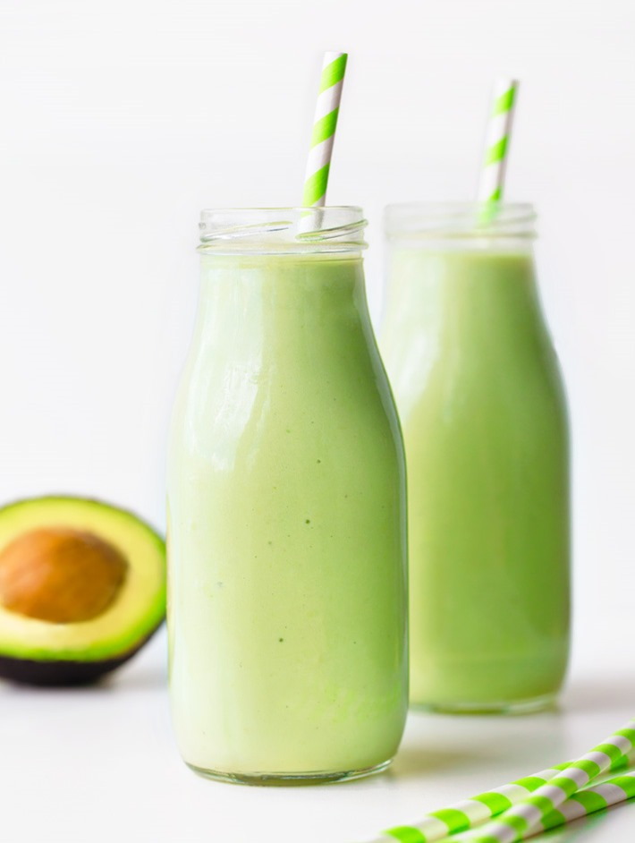 Avocado Smoothie Just 5 Ingredients