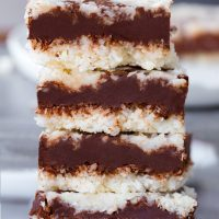 Low Carb Keto Chocolate Coconut Fudge Bars Recipe
