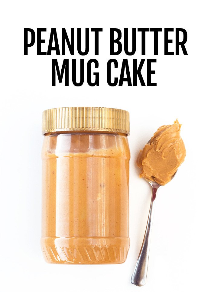 Peanut Butter Mug Cake Recipe
