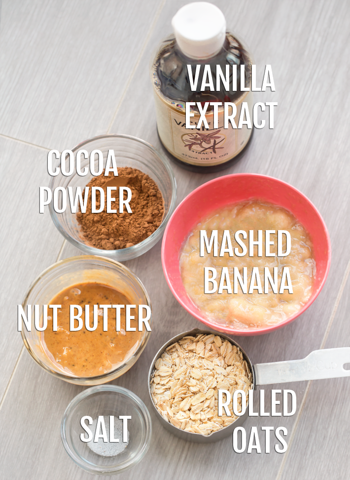 Banana Cookie Ingredients