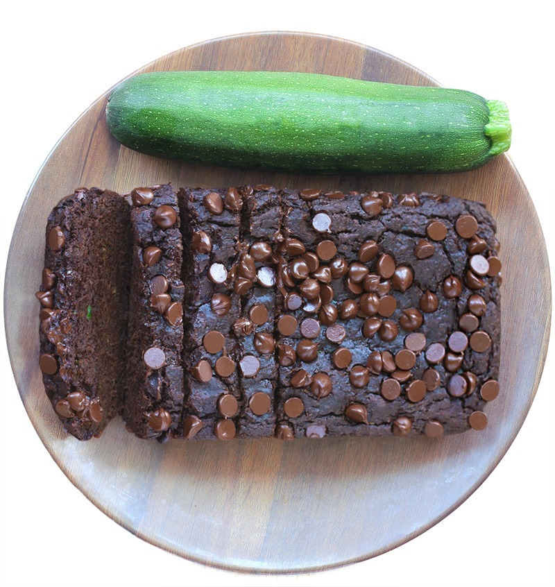 Double Chocolate Vegan Zucchini Bread