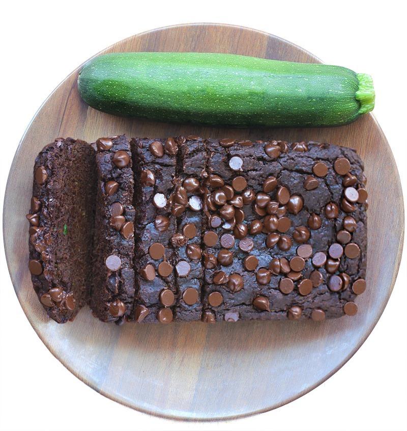 Double Chocolate Vegan Zucchini Bread