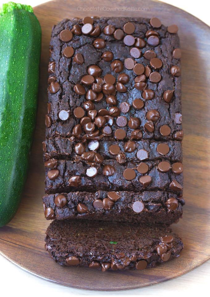 HEALTHY Chocolate Zucchini Bread Recipe