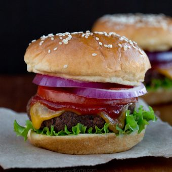 Veggie Burger Recipe - Just 6 Ingredients!