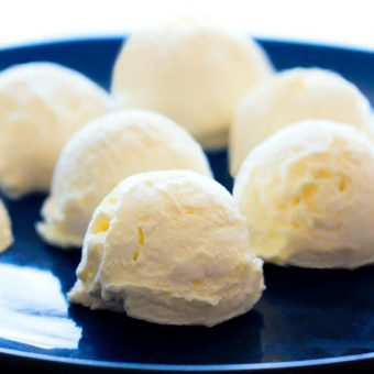 Pineapple Frosting Bombs