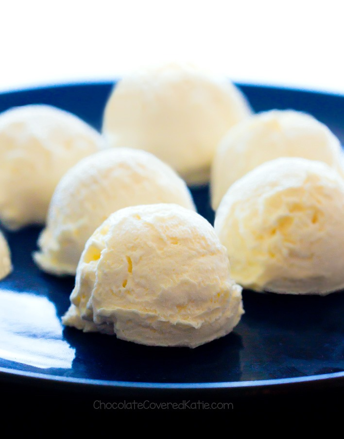 NO BAKE Easy Healthy Pineapple Frosting Bombs Recipe