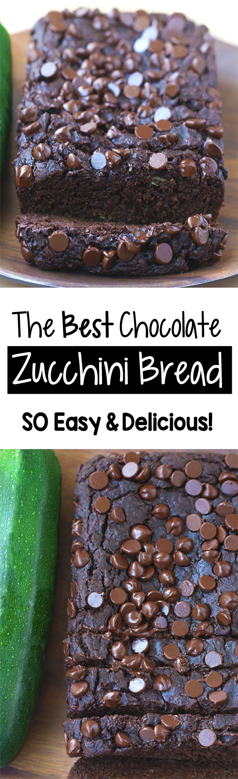 The Best Double Chocolate Zucchini Bread Recipe