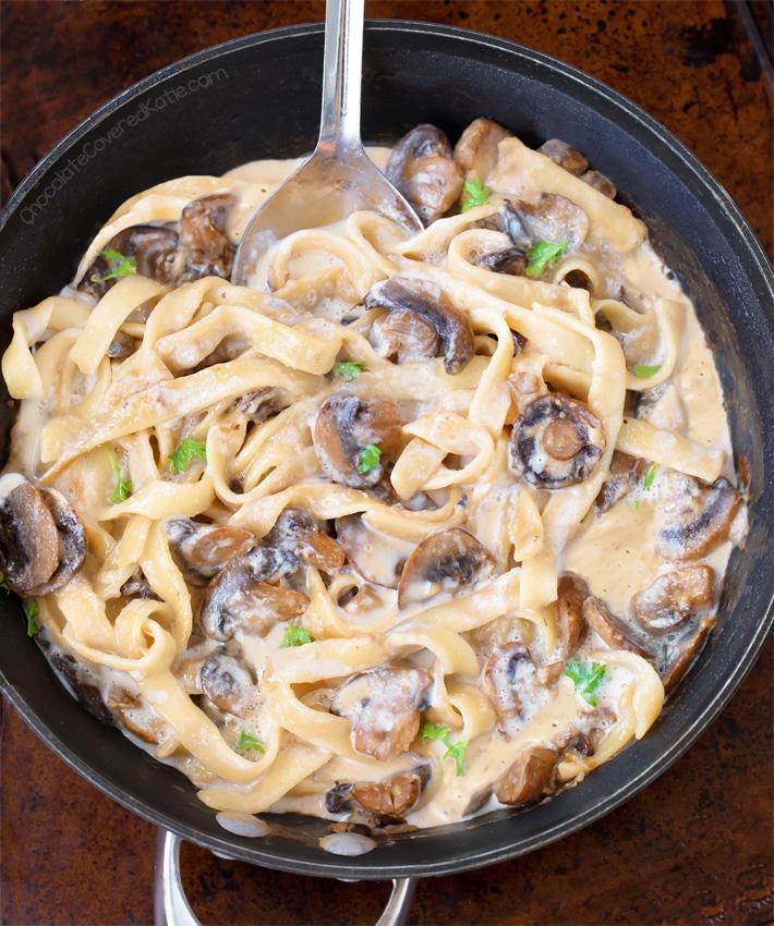 Homemade Mushroom Stroganoff Recipe