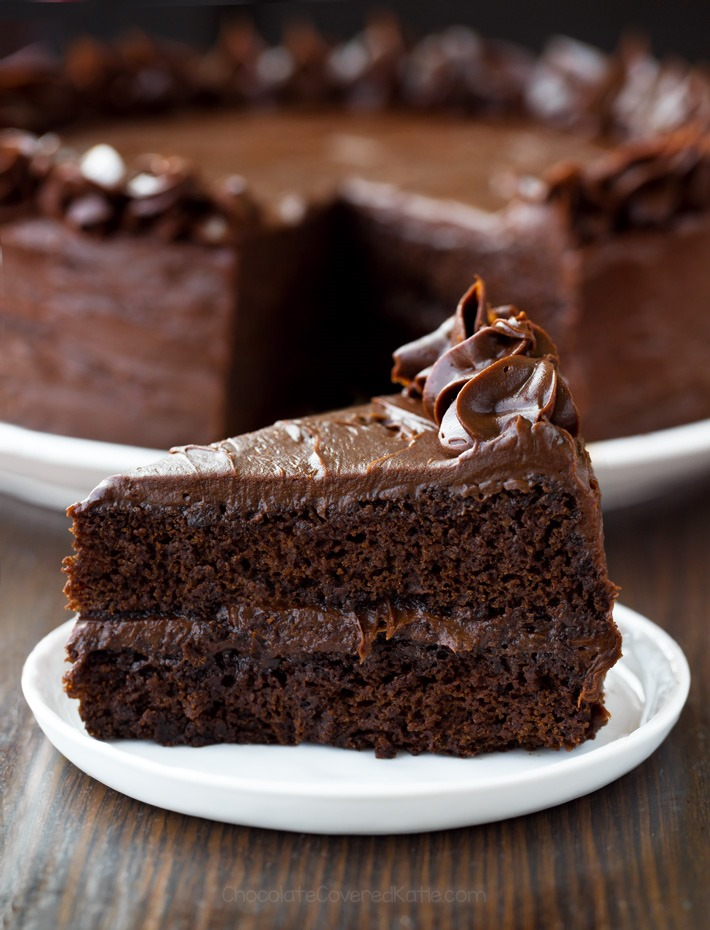The Best Chocolate Flourless Cake