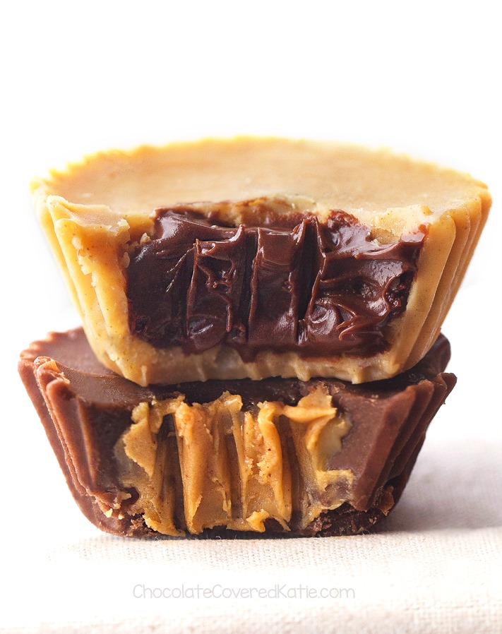 DIY 5 Ingredient Chocolate Peanut Butter Cups