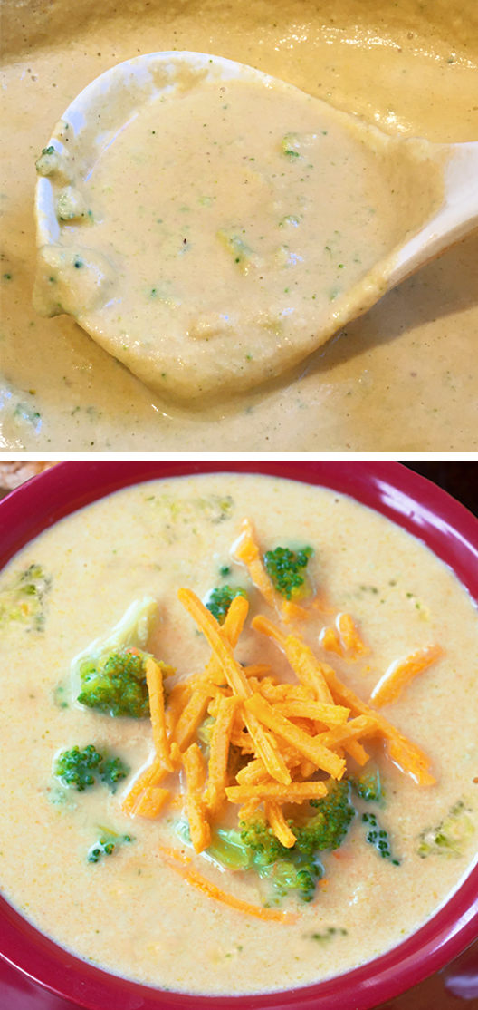 Creamy Vegan Broccoli Cheddar Soup Recipe