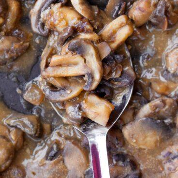 Easy Mushroom Gravy Recipe