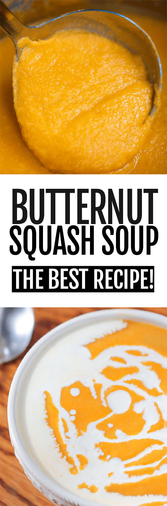 The Best Creamy Healthy Butternut Squash Soup Recipe