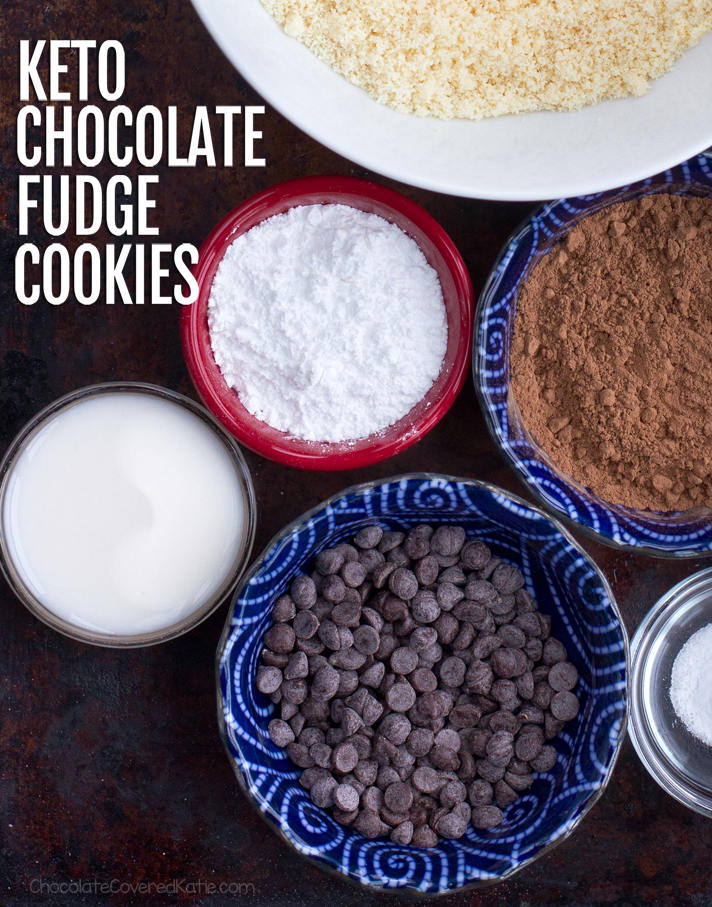 Keto Chocolate Cookie Ingredients