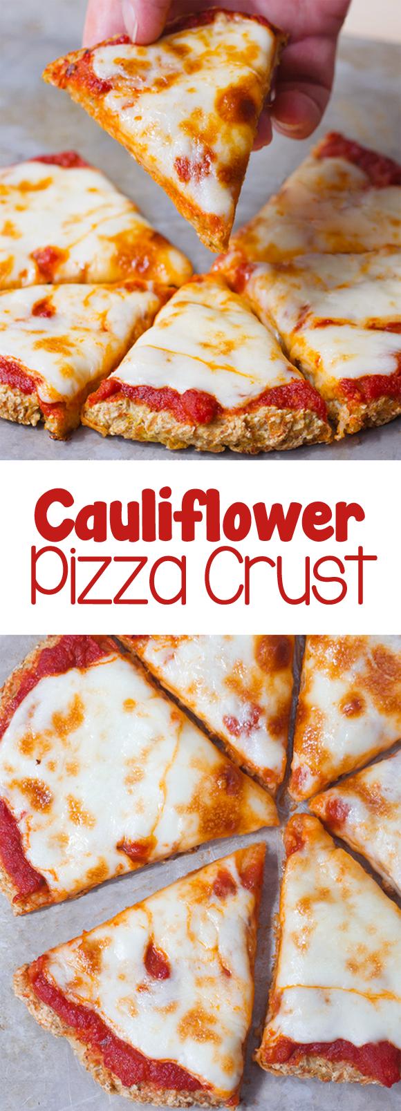 How To Make The Best Easy Cauliflower Pizza Crust Recipe