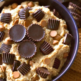 Peanut Butter Cup Cookie Dough Dip