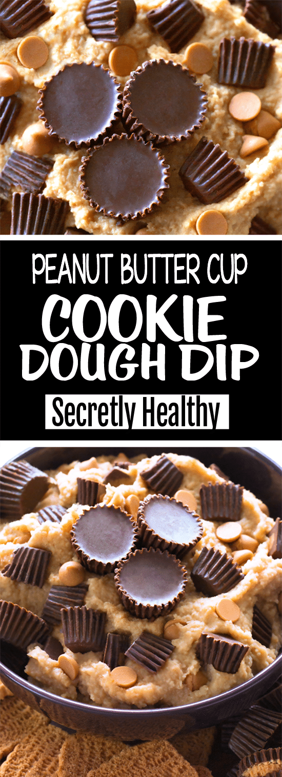 Super Easy Peanut Butter Cookie Dough Dip Recipe