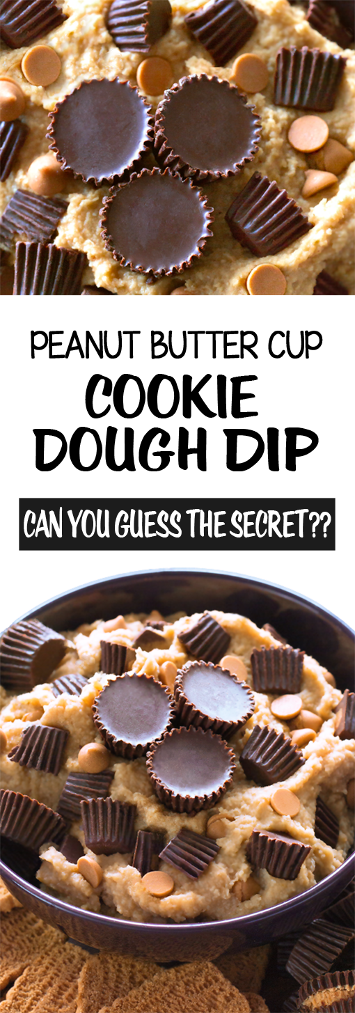 Super Easy Peanut Butter Cup Cookie Dough Dip Recipe