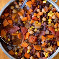 Super Healthy Vegetarian Chili Recipe