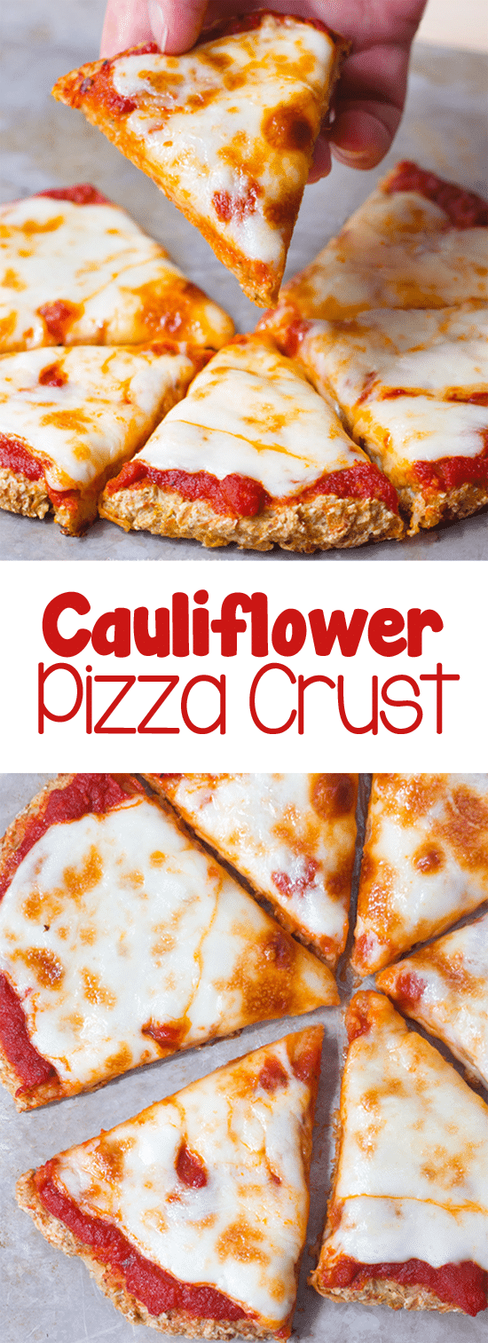 The Best Easy Cauliflower Pizza Crust Recipe