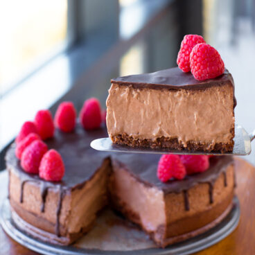Easy Keto Chocolate Cheesecake Recipe