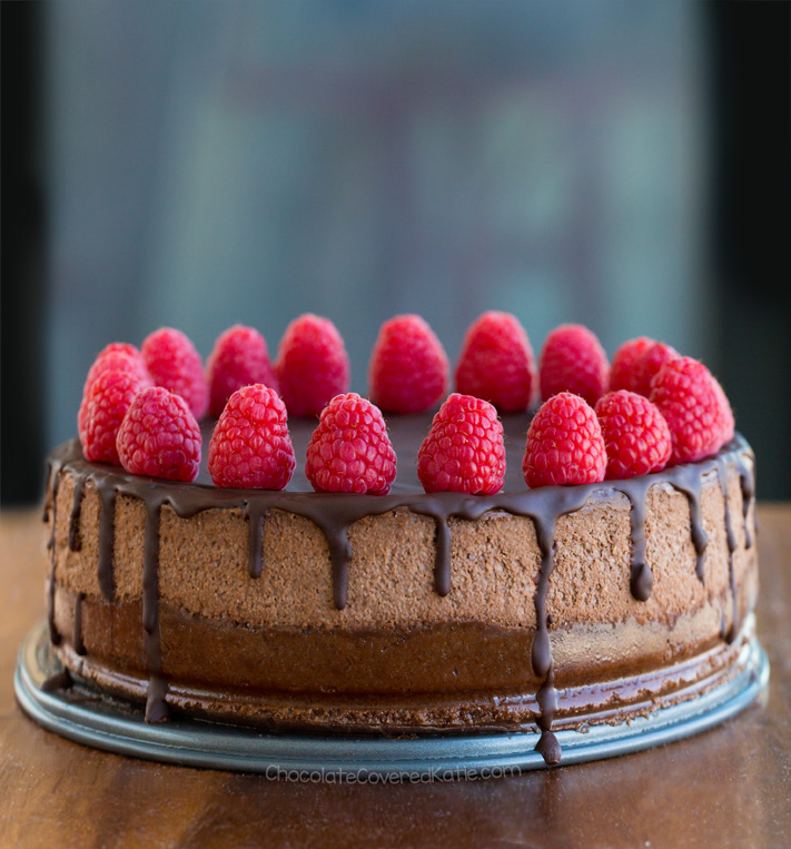 Flourless Chocolate Cheesecake
