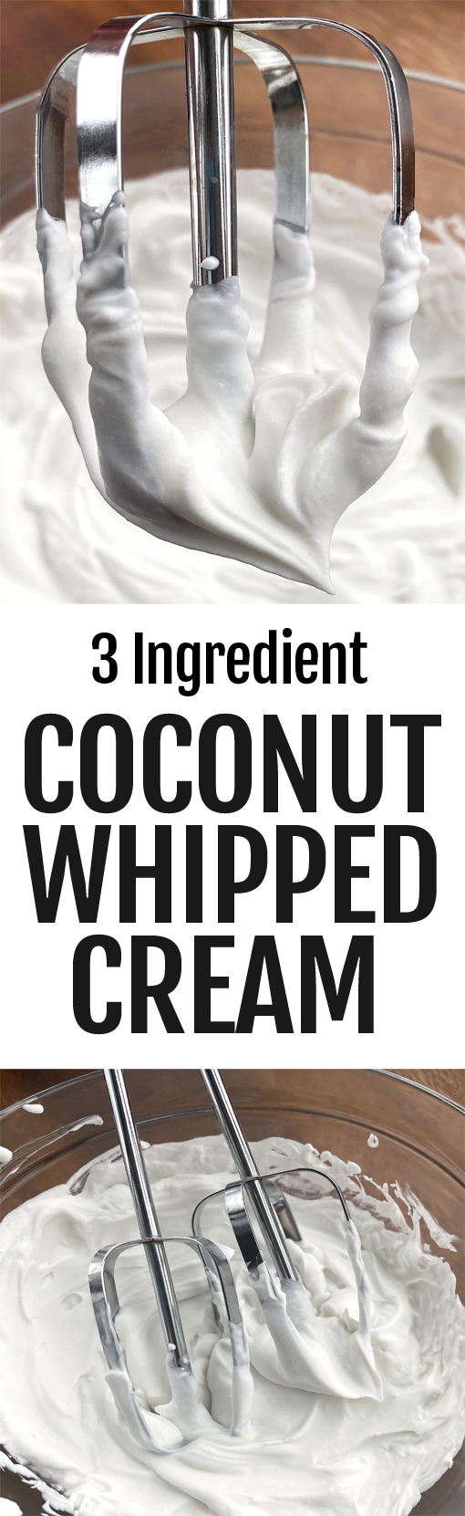 How To Make Dairy Free Coconut Whipped Cream