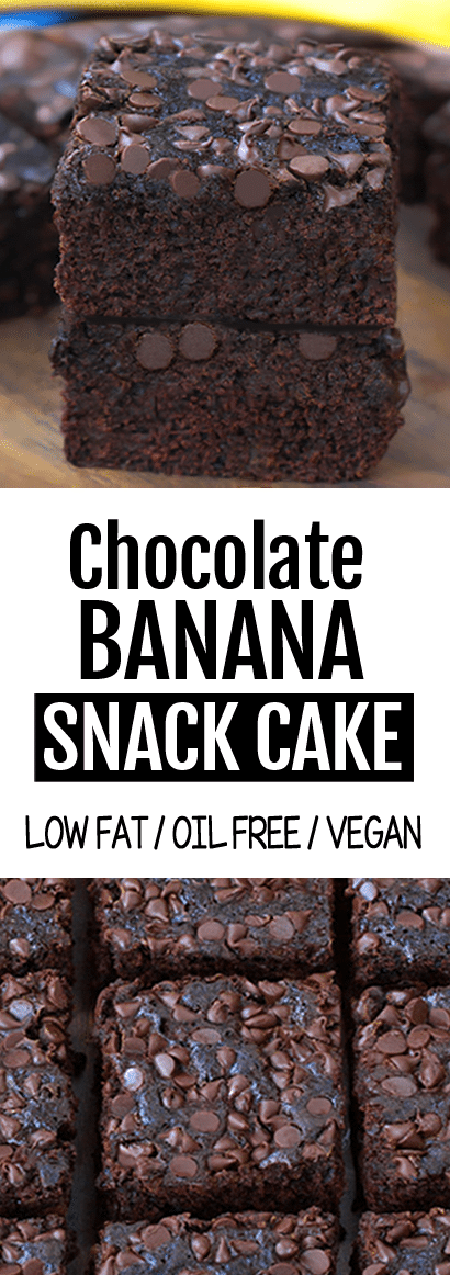 Secretly Healthy Chocolate Banana Cake Recipe