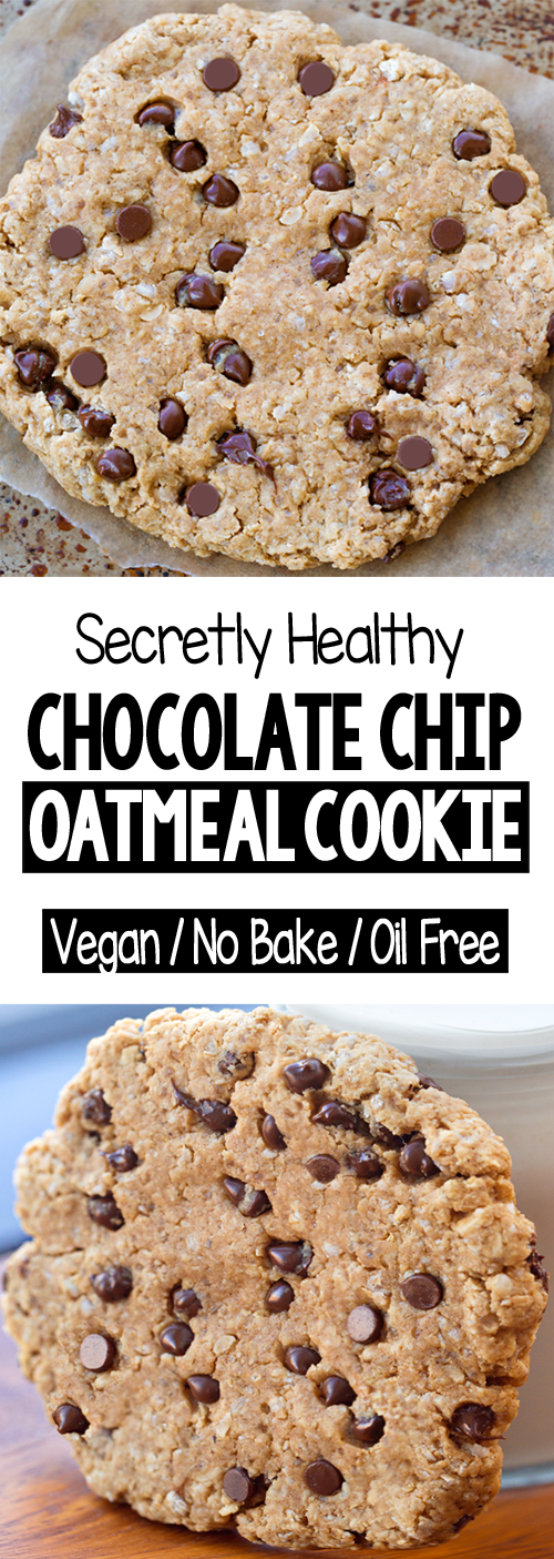 Single Serving Chocolate Chip Oatmeal Cookie Recipe