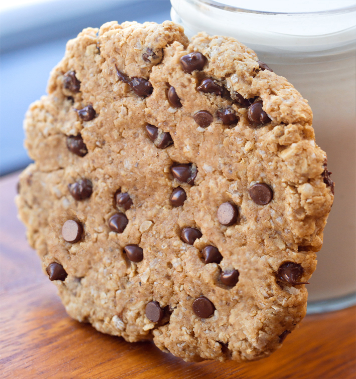 Single Serving Oatmeal Chocolate Chip Cookie