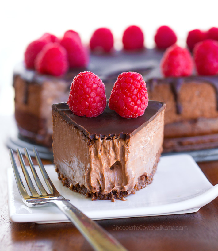 Best Keto Chocolate Cheesecake
