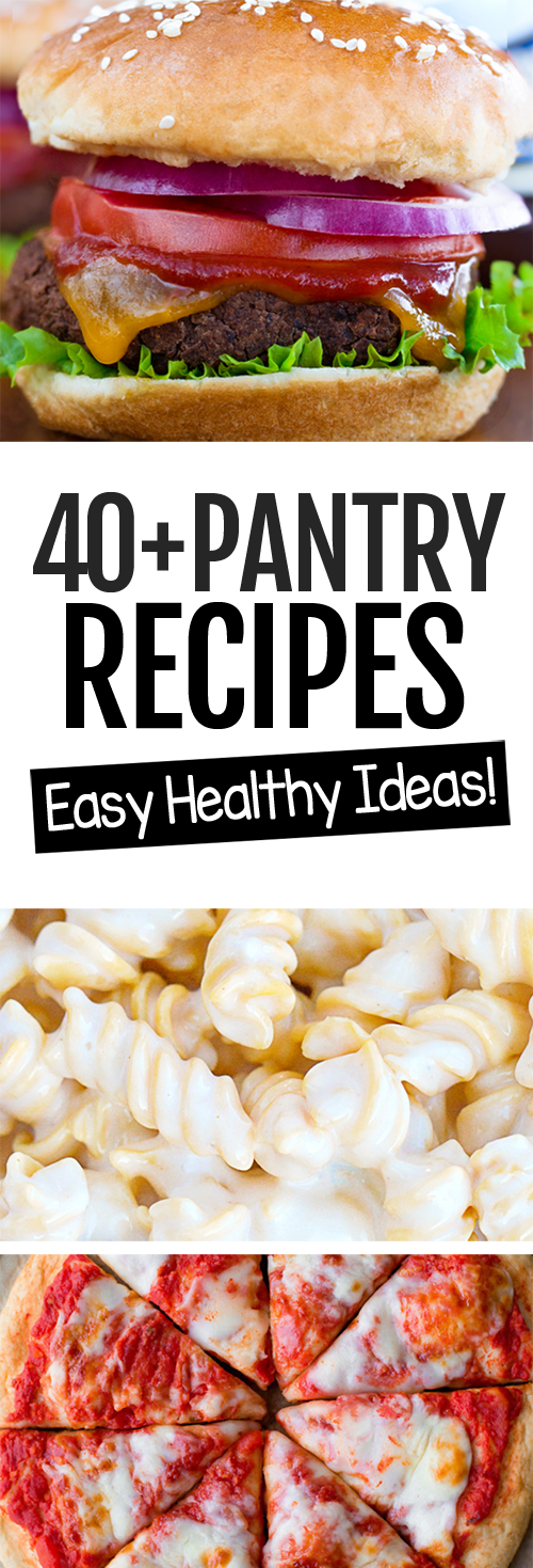 Easy Healthy Pantry Recipe Ideas