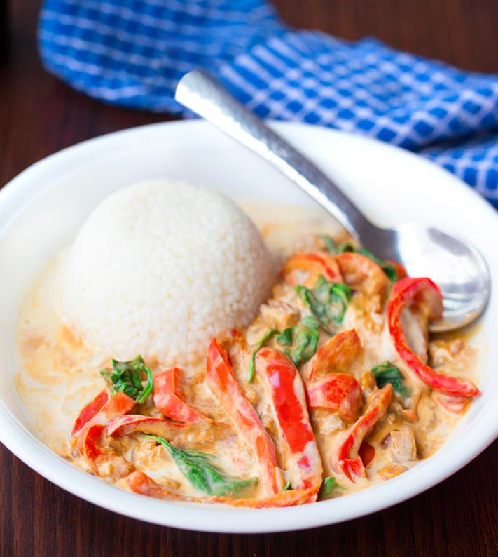 Homemade Vegetarian Coconut Curry Recipe