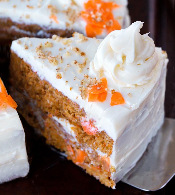 Como fazer um bolo de cenoura vegano do zero