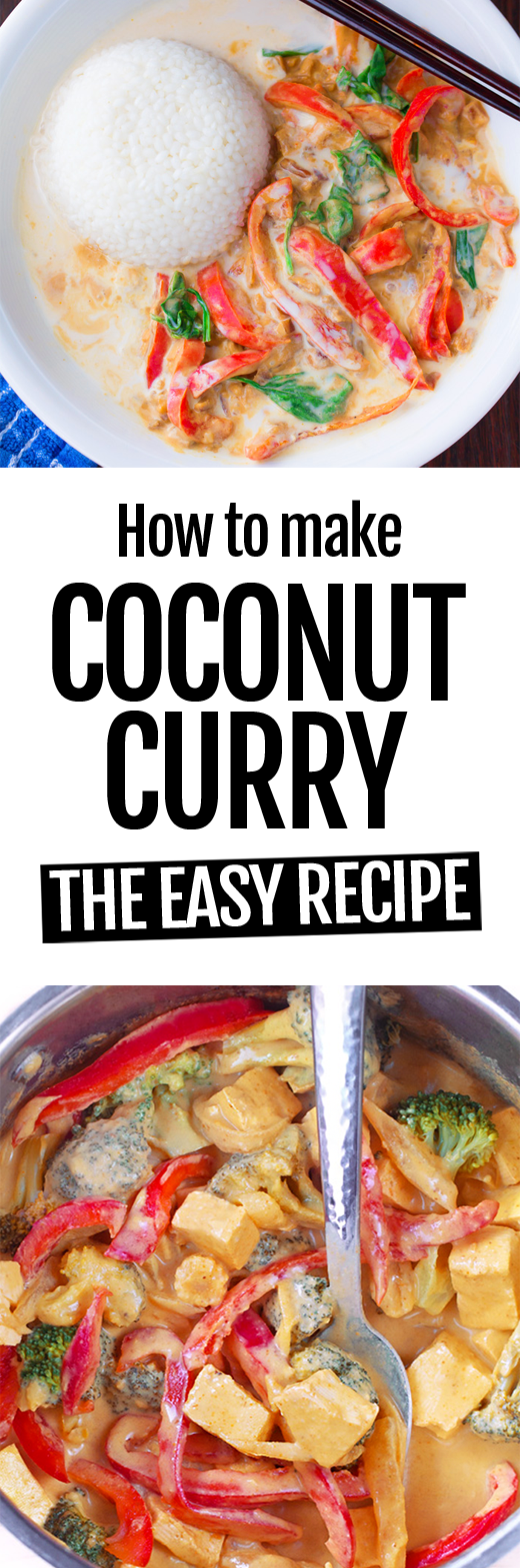 How To Make The Best Easy Coconut Curry Recipe