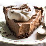 No Bake Vegan Chocolate Pie Recipe