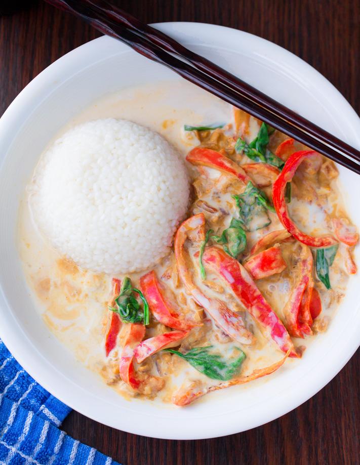 Super Easy Coconut Curry Recipe