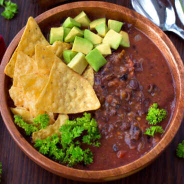 The Best Black Bean Soup (Homemade)