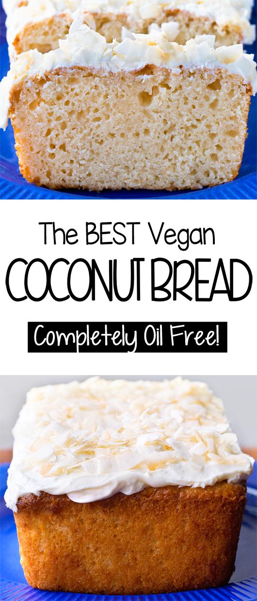 The Best Vegan Coconut Bread Recipe