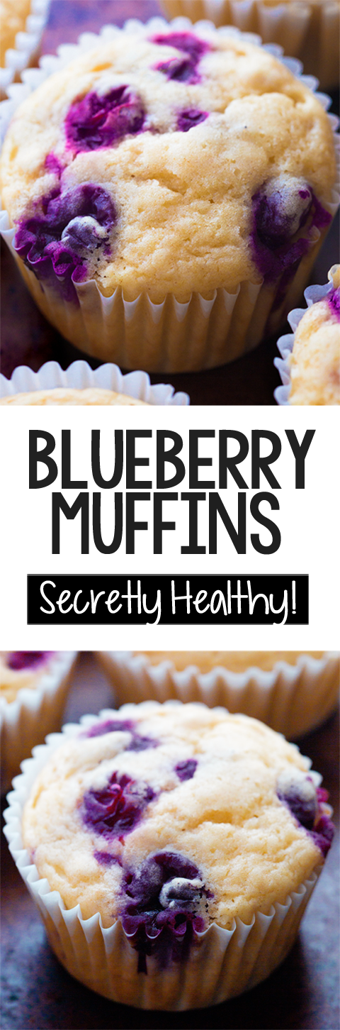 How To Make The Best Healthy Blueberry Muffins
