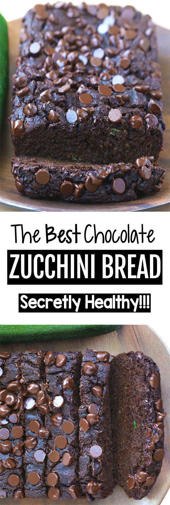 The Best Double Chocolate Zucchini Bread Recipe