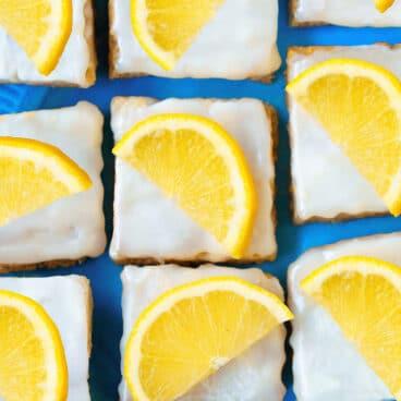 The Best Soft Chewy Lemon Bars
